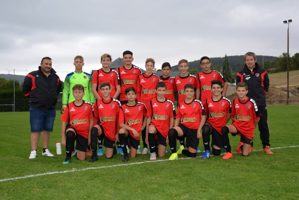 2019-09-21 u15_003 - Photo de groupe